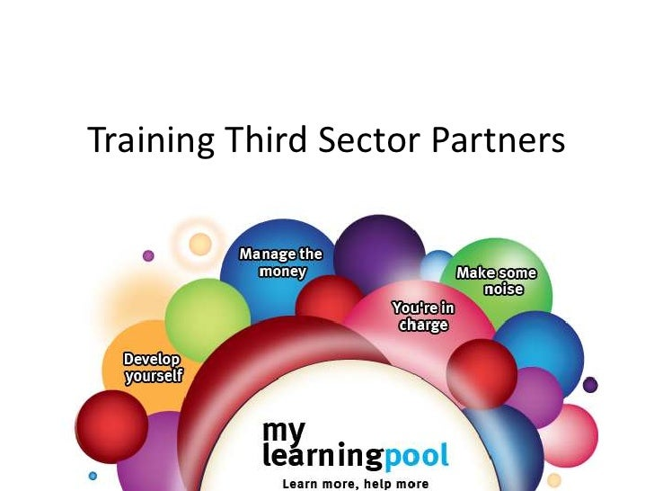 Training Third Sector Partners<br />