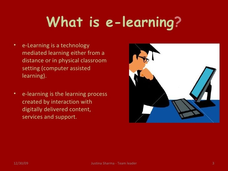 thesis statement for e-learning