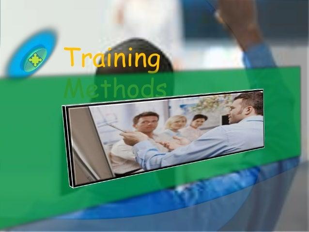TrainingMethods