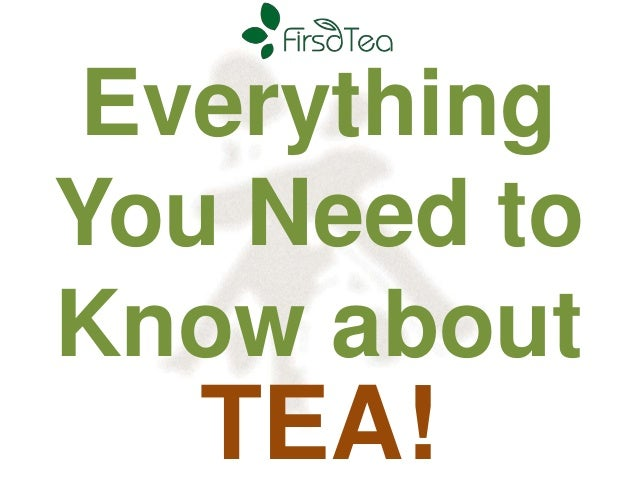 Everything You Need to Know about  TEA!