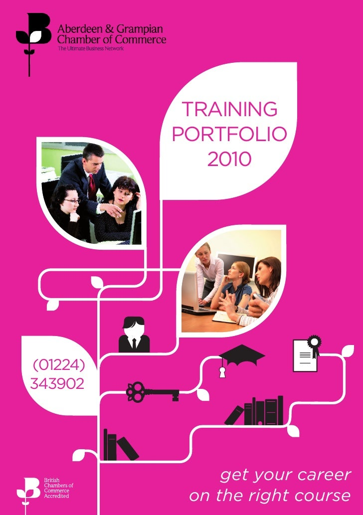 training portfolio 2010                                    TRAINING                               PORTFOLIO               ...