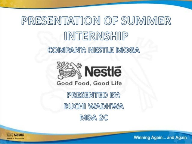 INTRODUCTION TO NESTLE• Nestle was founded in 1867 in Geneva,  Switzerland by Henri Nestle• He developed an infant formula...