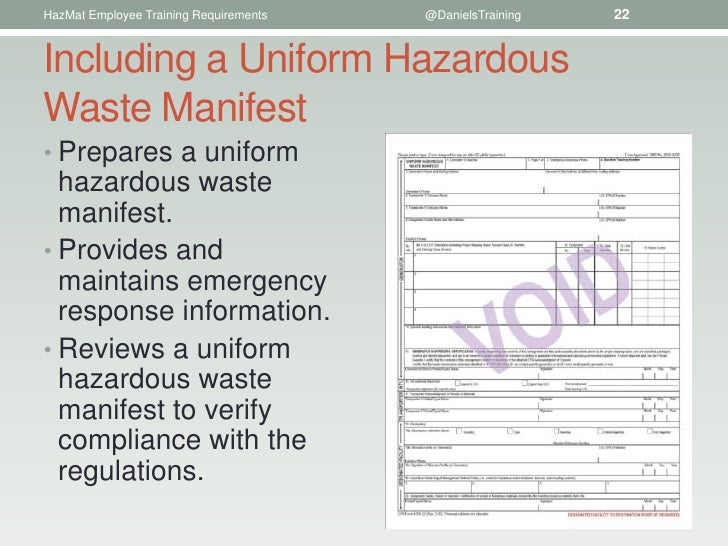 hazardous waste manifest pictures to pin on pinterest thepinsta. Black Bedroom Furniture Sets. Home Design Ideas