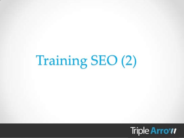 Training seo 2