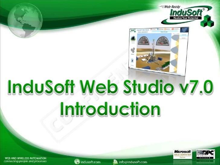 InduSoft Web Studio v7.0 Introduction<br />