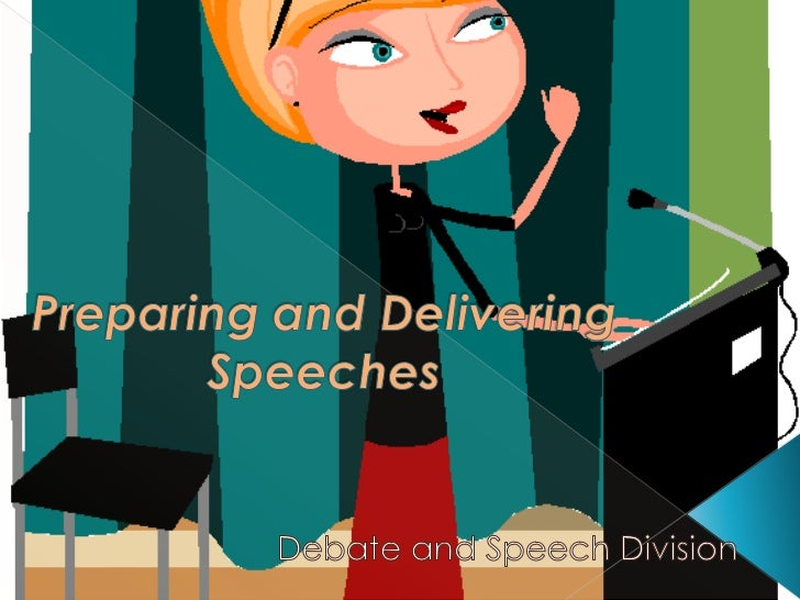 Training speech