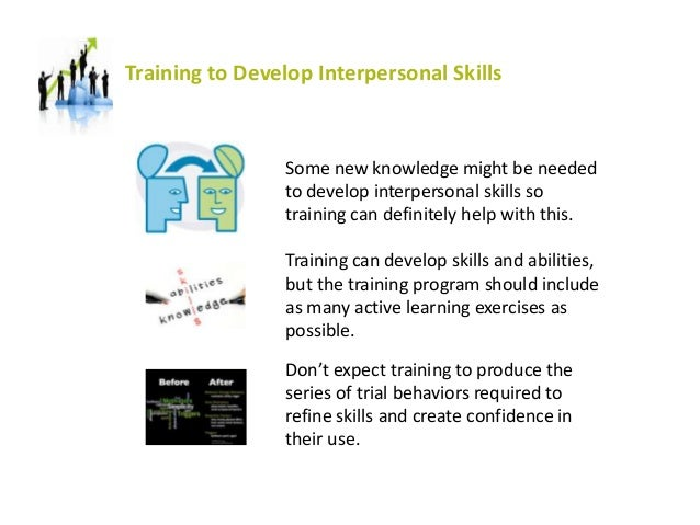 Training to Develop Interpersonal Skills for Leaders