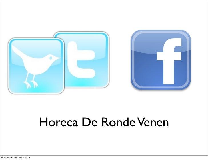 Training twitter facebook horeca