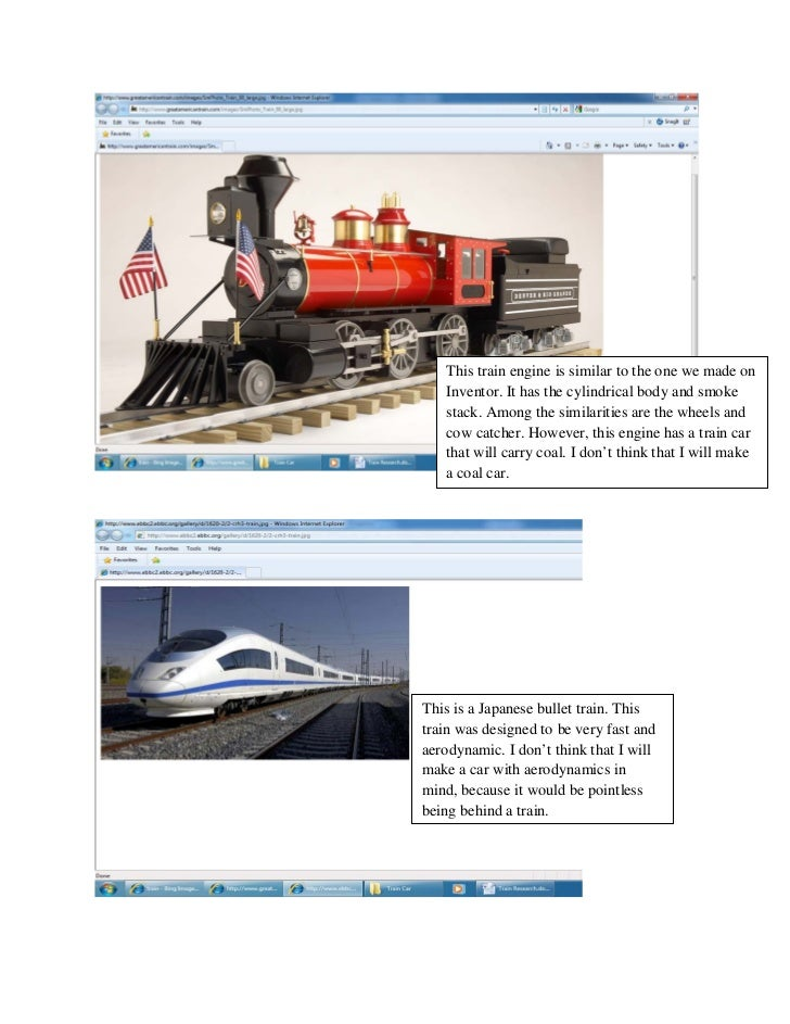 This train engine is similar to the one we made on   Inventor. It has the cylindrical body and smoke   stack. Among the si...