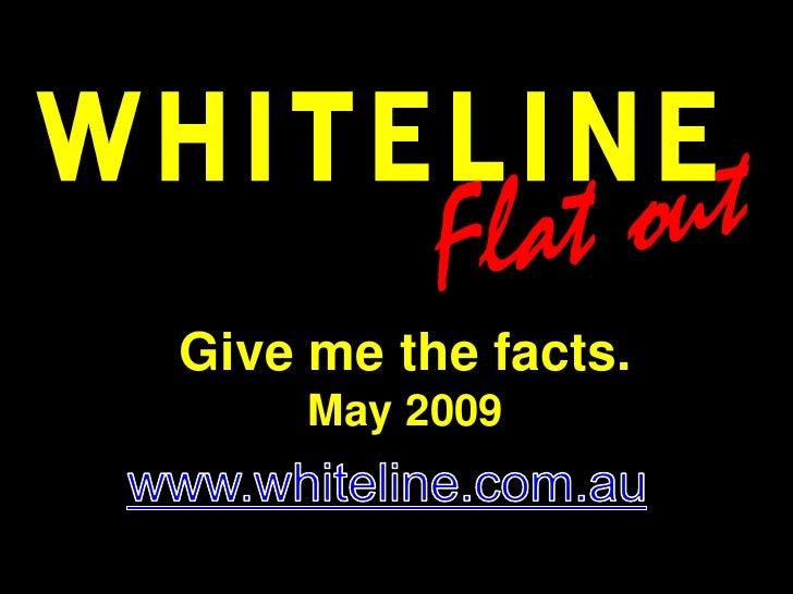 Whiteline Flatout Tech Training May 2009