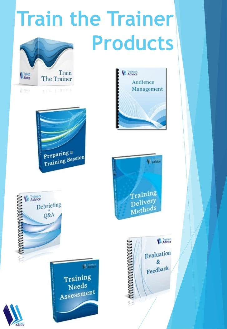 Train the Trainer        Products