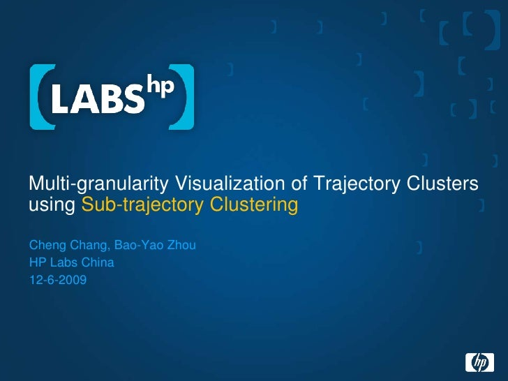 Multi-granularity Visualization of Trajectory Clusters using Sub-trajectory Clustering<br />Cheng Chang, Bao-Yao Zhou<br /...