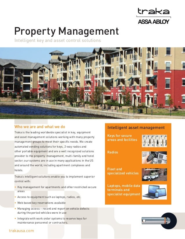 Property Management list of subjects to study in college