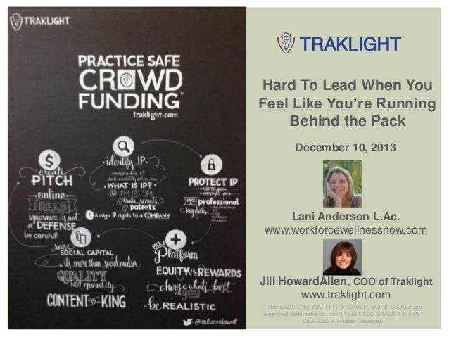 Traklight presents Lani Anderson: Health and Wellness Tips