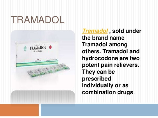 tramadol for wound pain