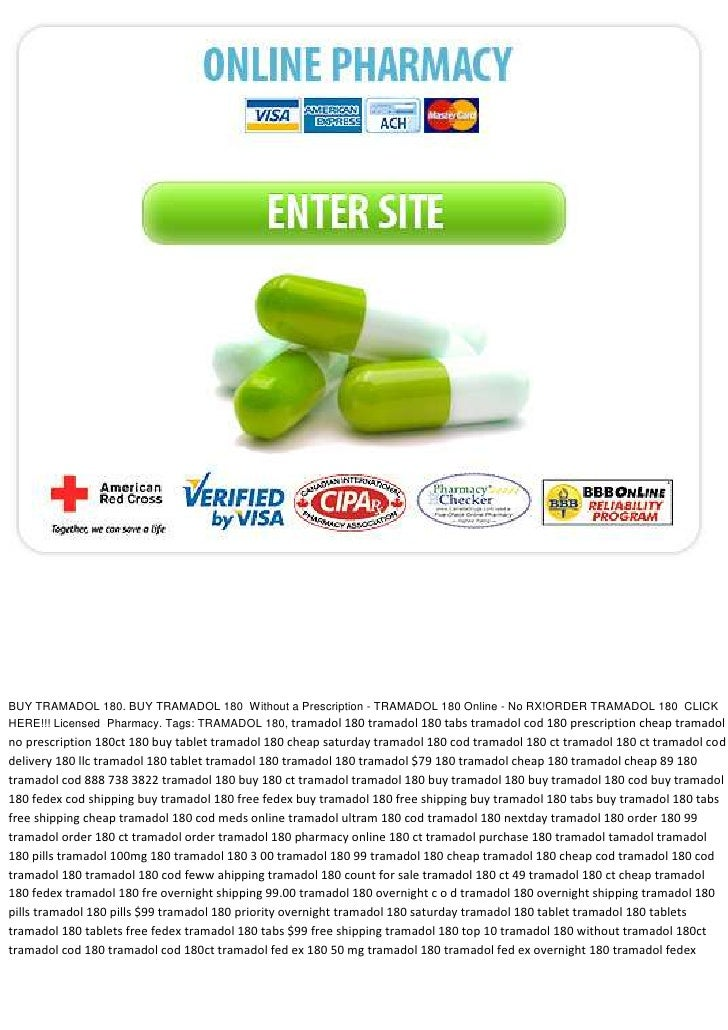 Cheapest tramadol online