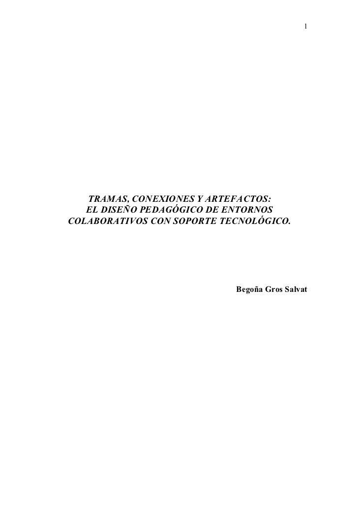 Tramas, conexiones y artifactos, v octubre 2006