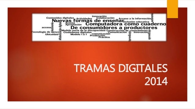 Tramas Digitales Logo Tramas Digitales 2014