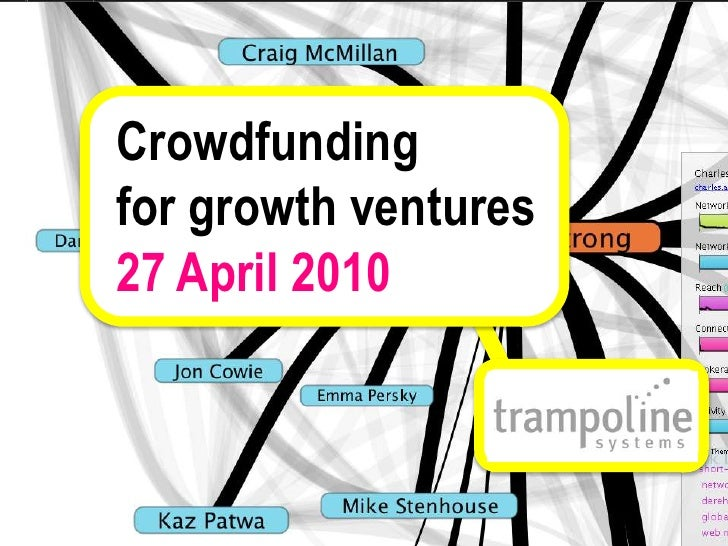 Crowdfunding<br />for growth ventures<br />27 April 2010<br />