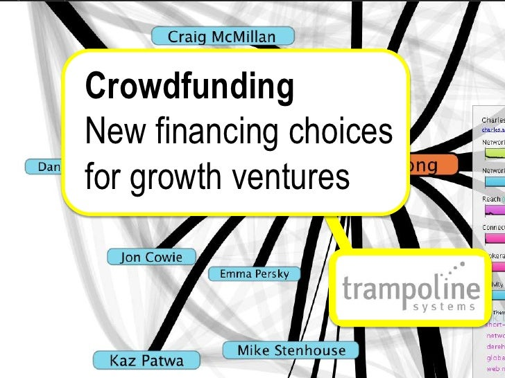 Crowdfunding<br />New financing choices<br />for growth ventures<br />