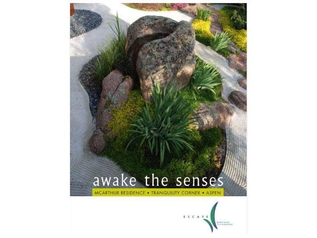 Escape Garden Design Tranquility Corner - A Garden to Awake the Senses