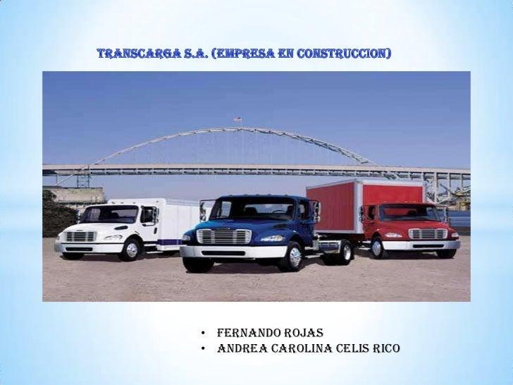 • FERNANDO ROJAS• ANDREA CAROLINA CELIS RICO