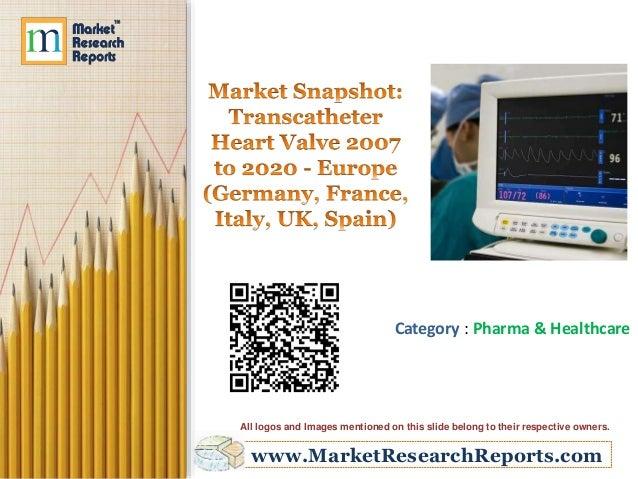 fllnrlul  m nmamu  M9001  Market Snapshot:  Transcatheter Heart Valve 2007 to 2020 - Eurone (Germany.  France.  Italy,  UK,...