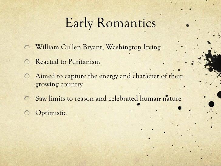 William Cullen Bryant transcendentalism