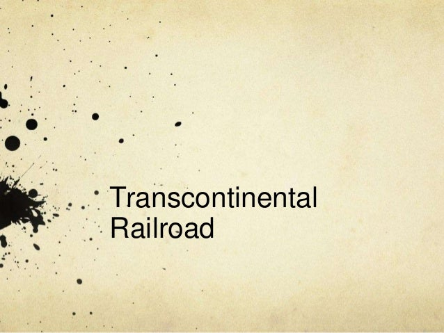 TranscontinentalRailroad