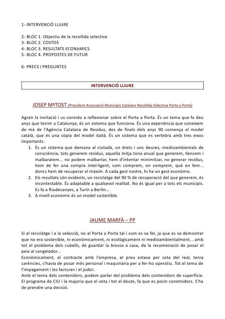 Transcripció taula rodona