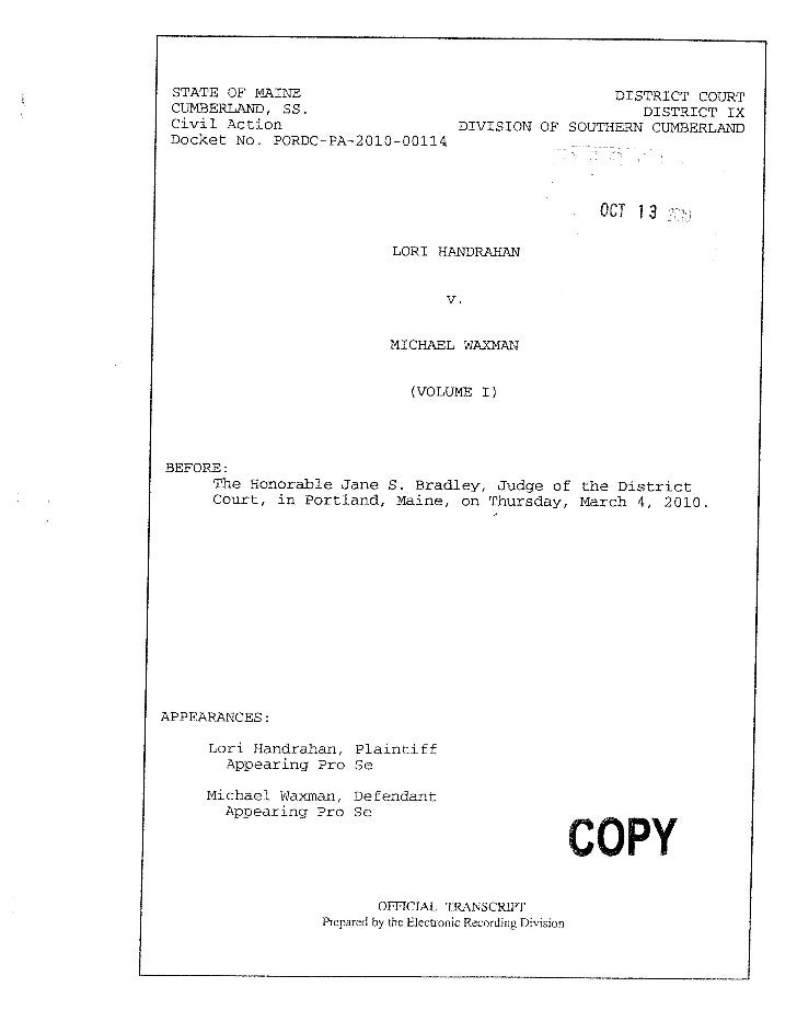Transcript pfh  vol 1 part 1