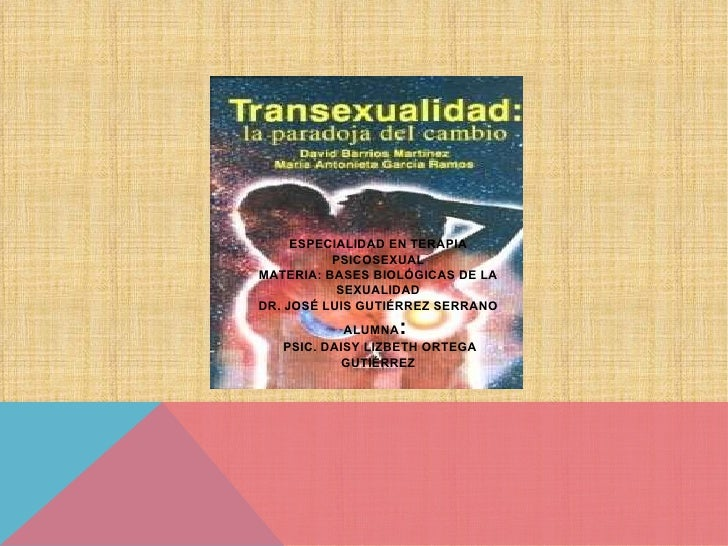 Transexualidad paradoja del cambio