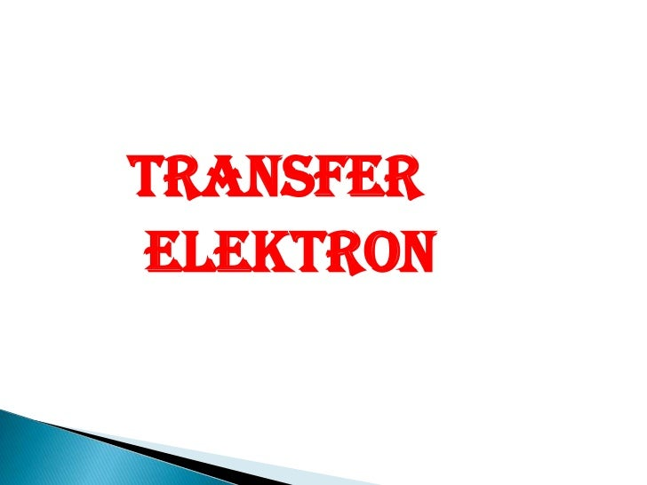 TRANSFER      ELEKTRON<br />