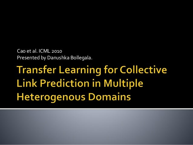 Transfer learningforclp