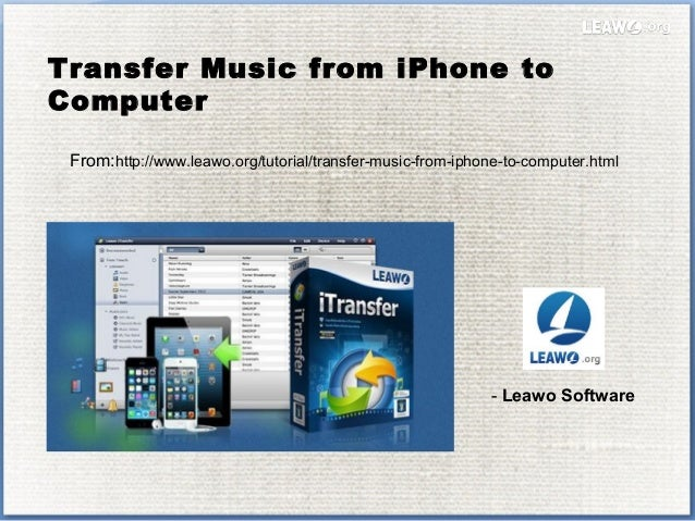 how to add music from iphone to computer