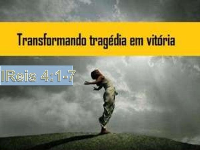 I. Reagir a situação   Ela fez algo sobre a sua situação.    2 Crônicas 20:3 Então Jeosafá temeu, e pôs-se a buscar o Se...