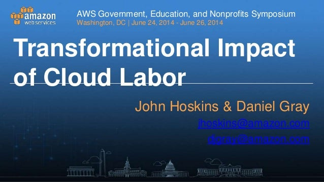 Transformational impact of cloud labor session1 062314v1