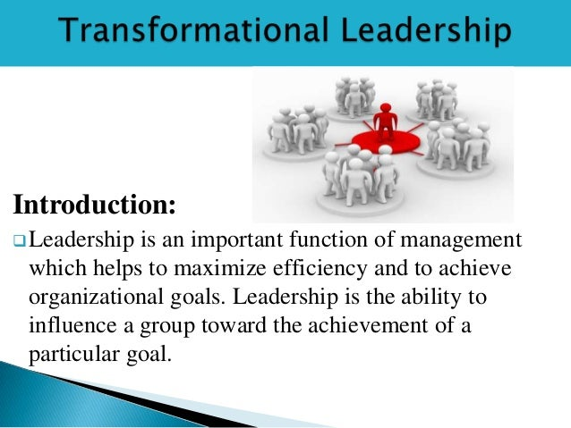transformational leadership style Situational, transformational, and transactional leadership and leadership styles and adaptability differ across various situations, conditions, structures, and.