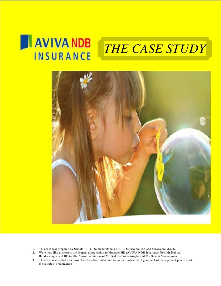 THE CASE STUDY1.   This case was prepared by Srinath H.P.G, Sumanarathna T.D.C.L, Suraweera U.S.and Suraweera M.N.S.2.   W...