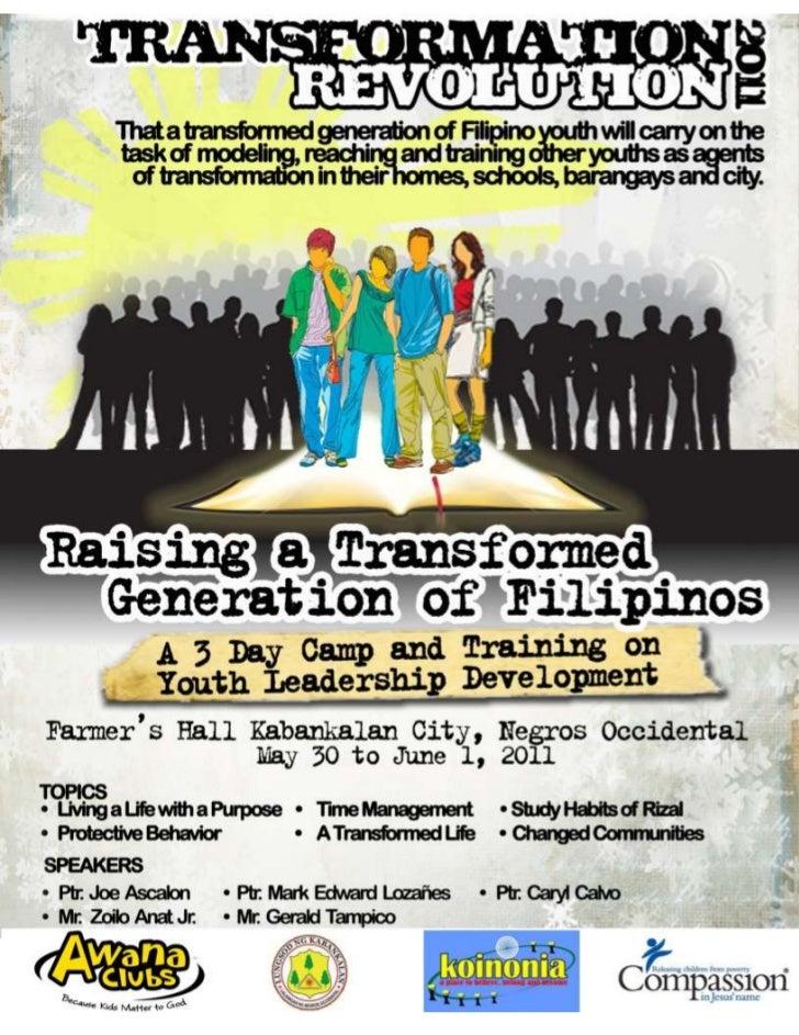 Transformation revolution 2011 poster