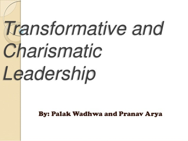 characteristics of charismatic leadership style