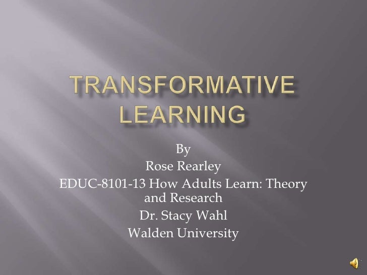"""contributors to adult learning theory essay - adult learning theory 2 adult learning theory malcolm knowles malcolm knowles (1913-1997) was a key figure in america's adult education in the second half of the twentieth century (smith, 2002) early life """"born in 1913 and initially raised in montana,"""" knowles seems to have had """"a reasonably happy childhood."""