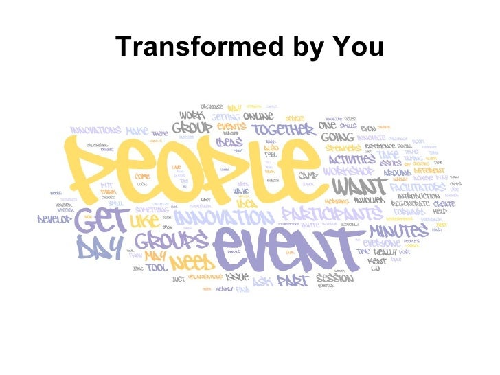 Transformed by You