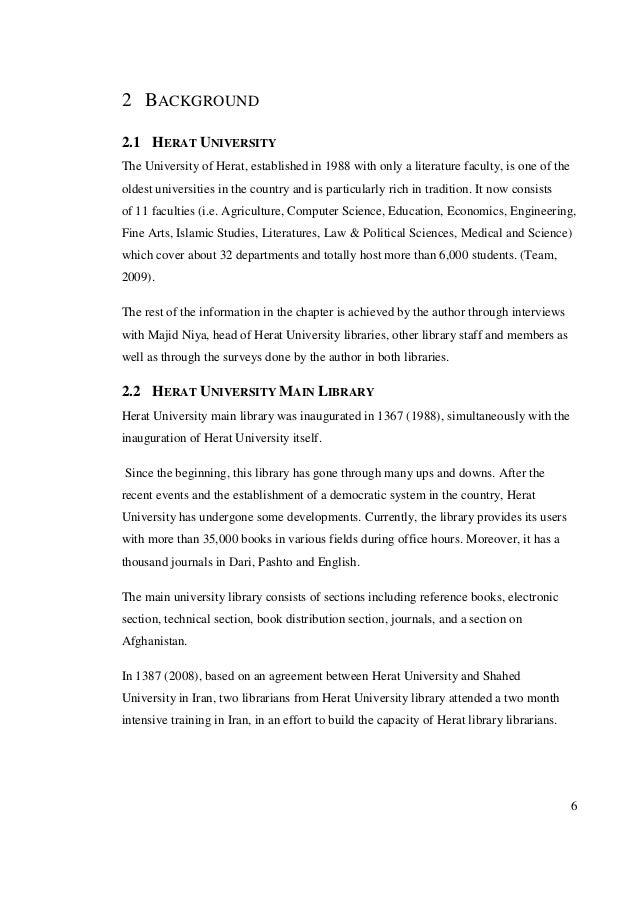 Paper based dissertation