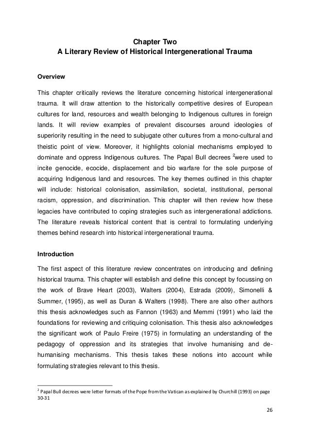 Phd Thesis Glossary