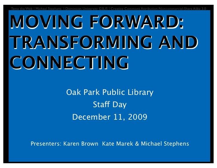 Transforming OPPL