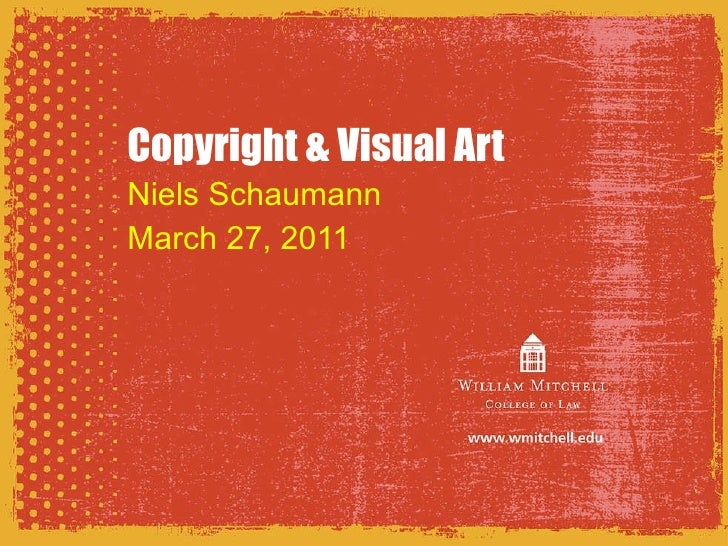 Copyright & Visual Art