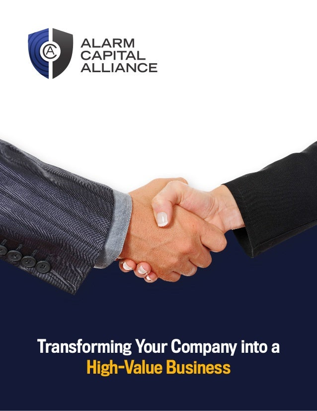 Transforming Your Company into a High-Value Business