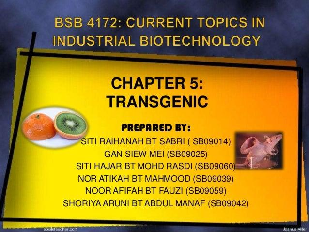 Transgenic