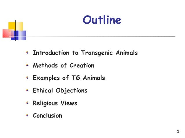 transgenic animals research papers In this review, the methods applied to produce transgenic animals are described  and the  therefore, the research community faced the challenge of developing .